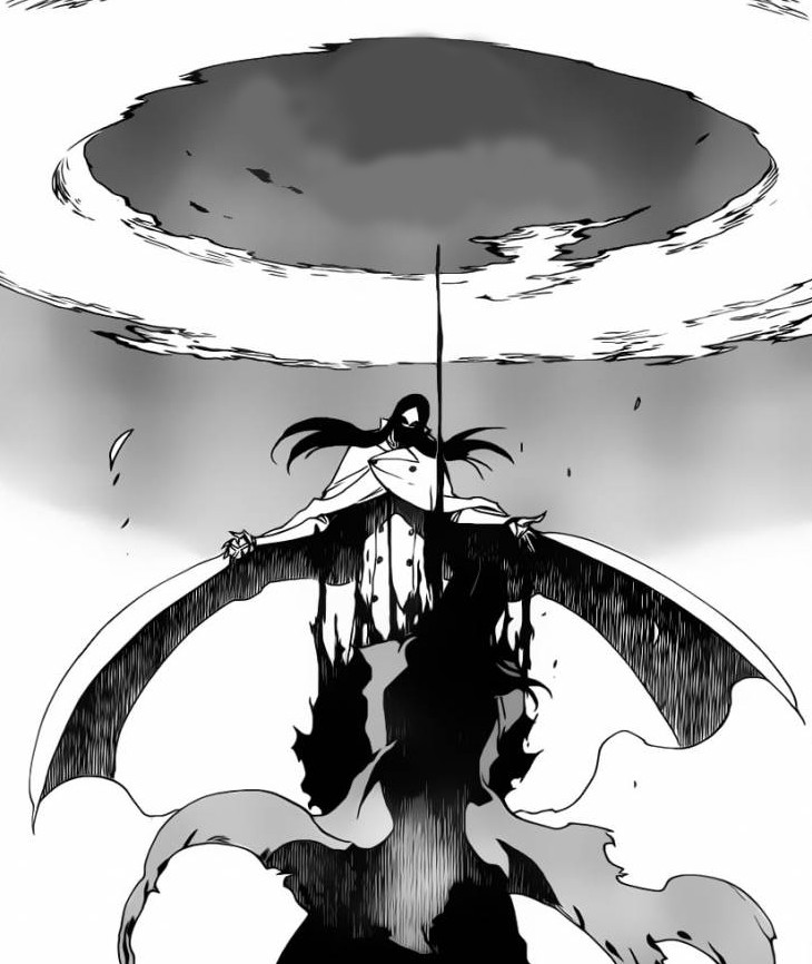 byakuya�s fear awakens � as nodt uses senbonzakura