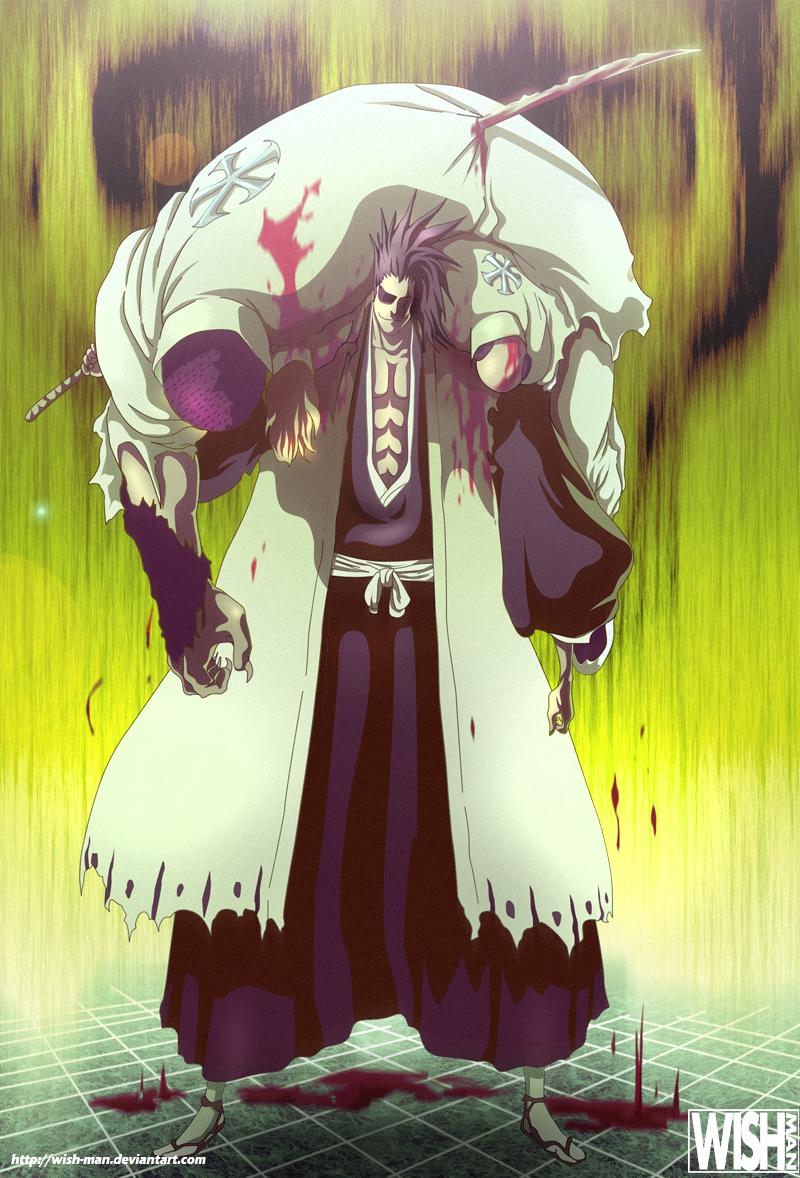 Byakuya Kuchiki Dead Zaraki Kenpachi Appears Bleach 502