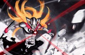 Ichigo vs Johnny Blaze – Hollow Ichigo vs Ghost Rider | Daily ...