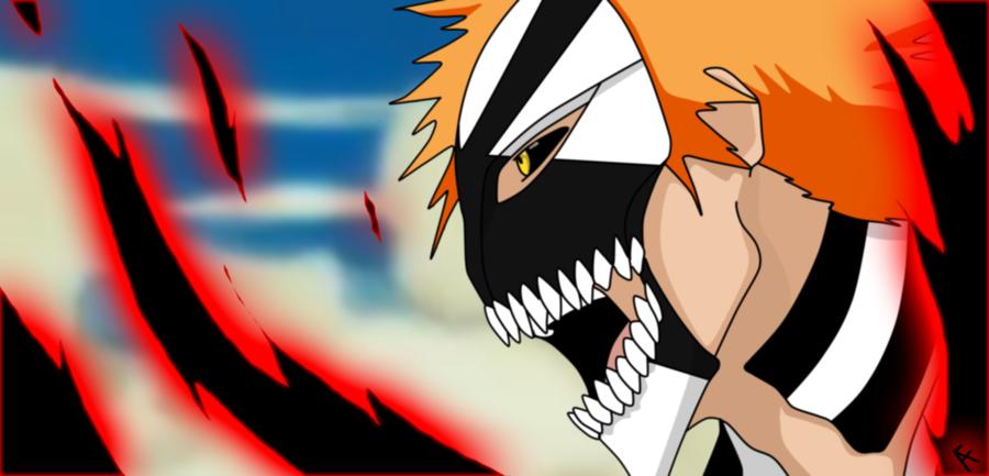 Ichigo's New Hollow Mask & Hollow Form?! | Daily Anime Art
