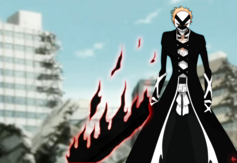 Ichigo's New Hollow Mask & Hollow Form?! | Daily Anime Art