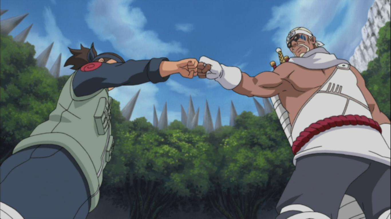 [FLT III] Grupo 1: RESH 5-1 RIKARUDO (Ganador: RESH) Iruka-and-killer-bee-fist-bump