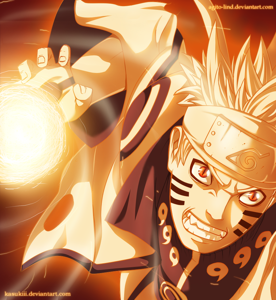Naruto (6 Paths Mode) Vs. Ichigo (Final Getsuga Tensho)