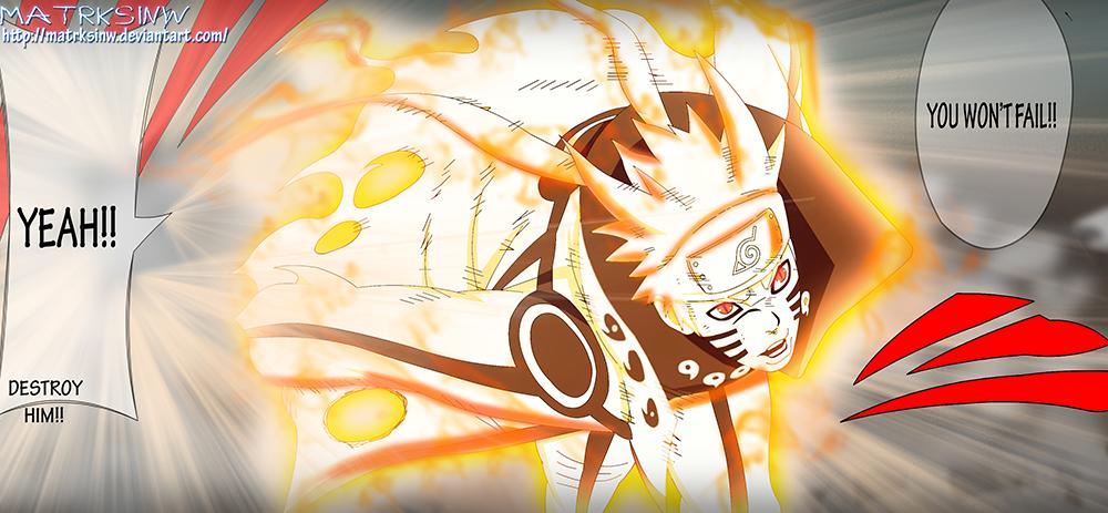 Sorprendentes imágenes de Naruto modo bijuu