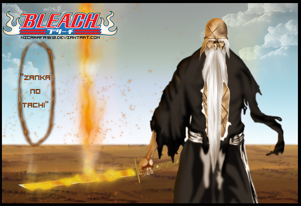 Yamamotos Bankai Zanka No Tachi Release Bleach 506