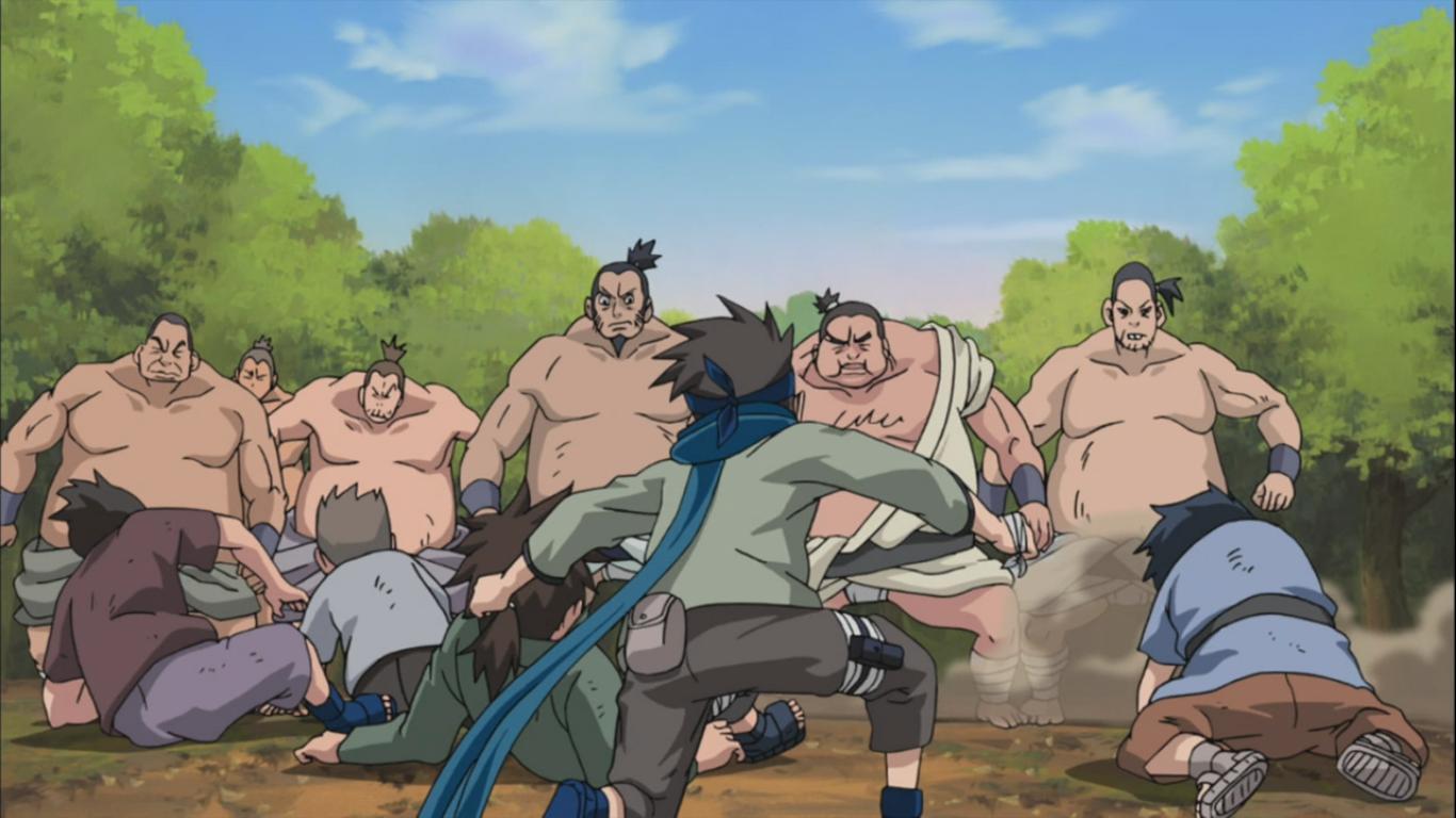 [Изображение: konohamaru-against-sumo-wrestlers.jpg]