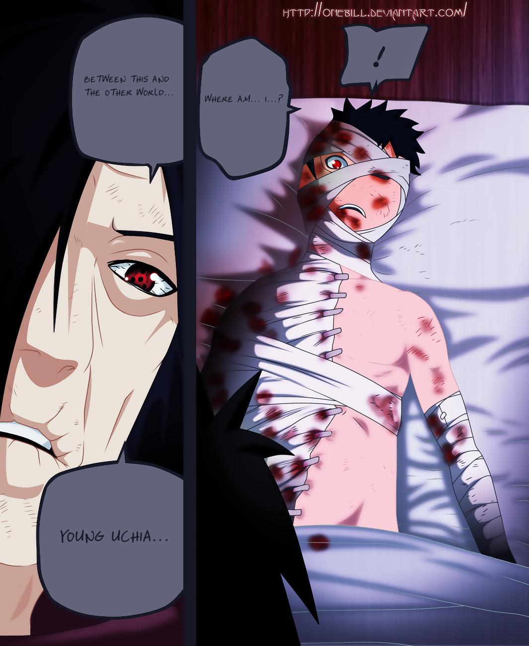 Madara Saved Obito Uchiha – Kage's Nearly Dead – Naruto ... Uchiha Madara And Obito