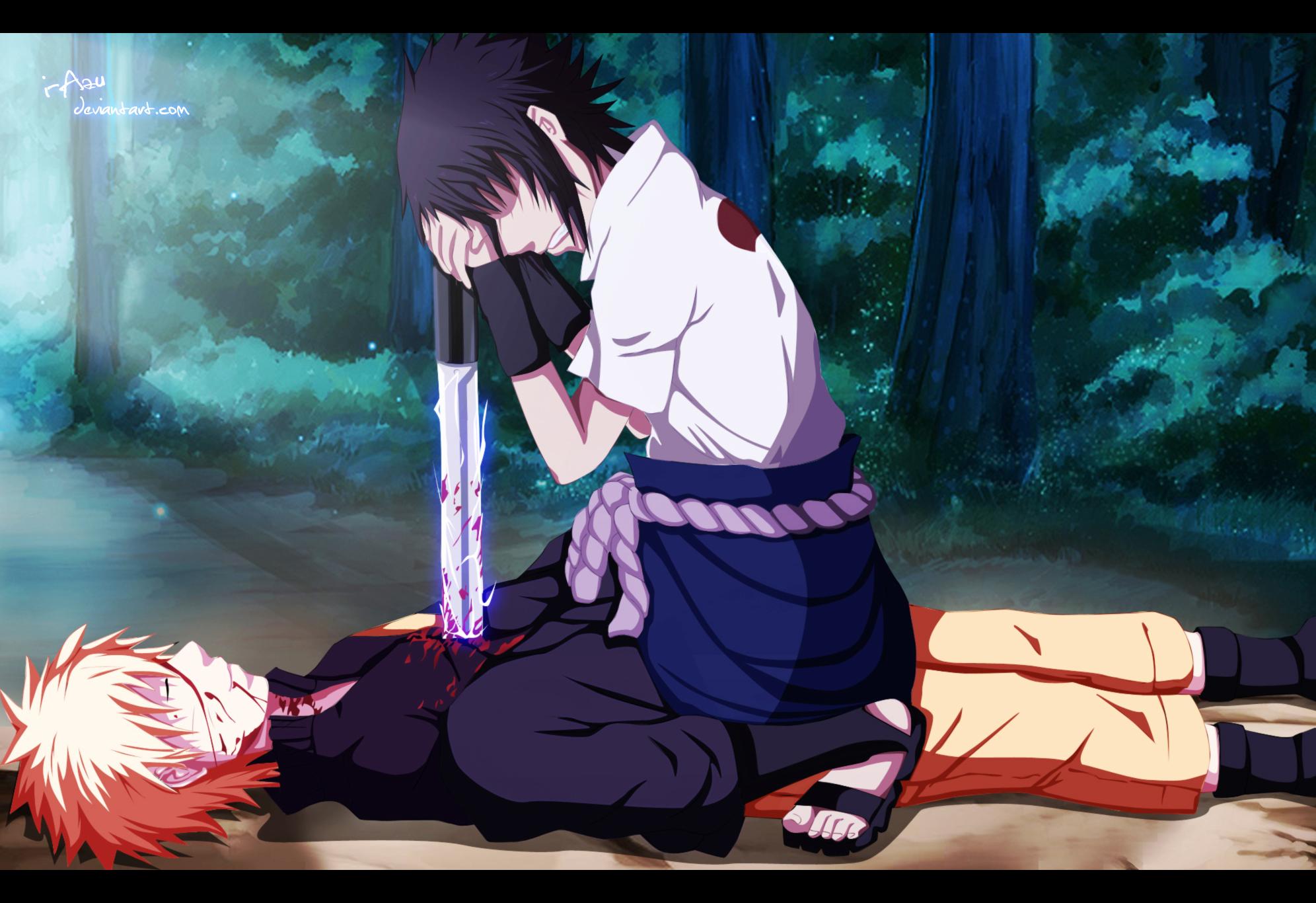 The end of naruto naruto uzumaki vs sasuke uchiha - Sasuke naruto ...