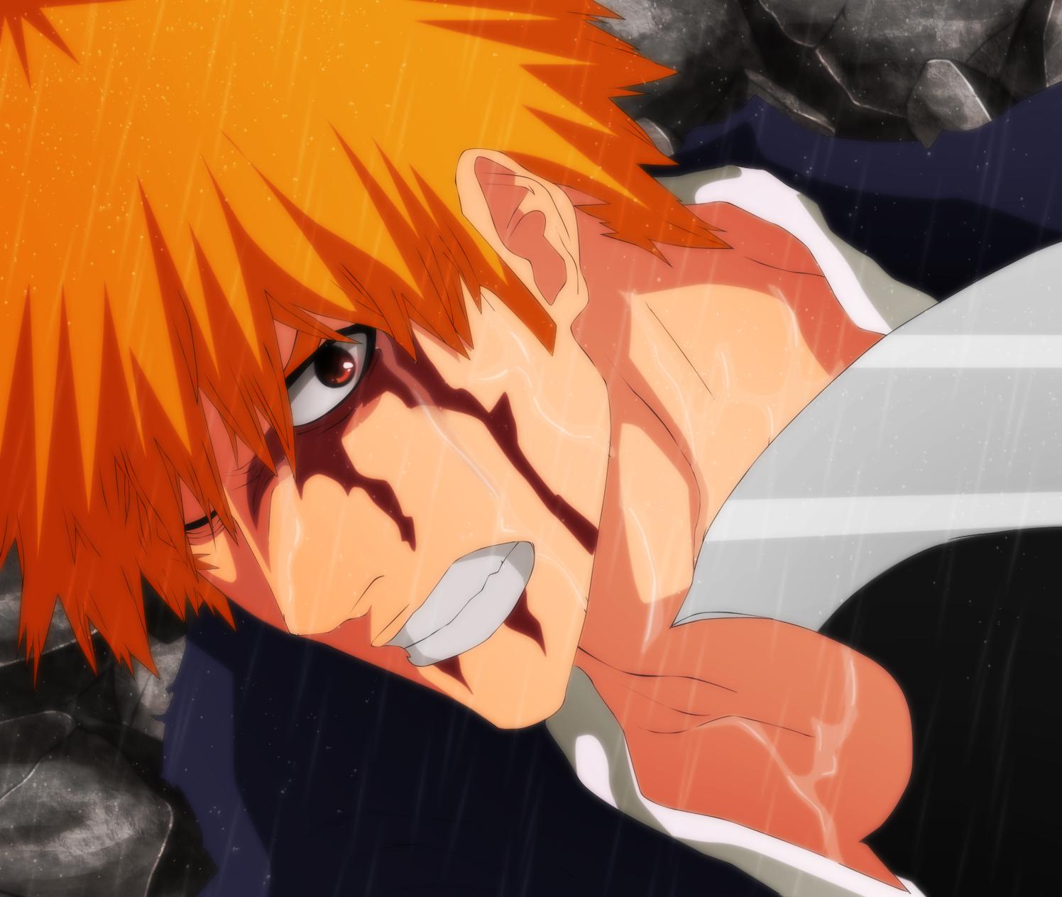 Ichigo uses Blut Vene!! Ichigo vs Juha Bach – Bleach 513 ...