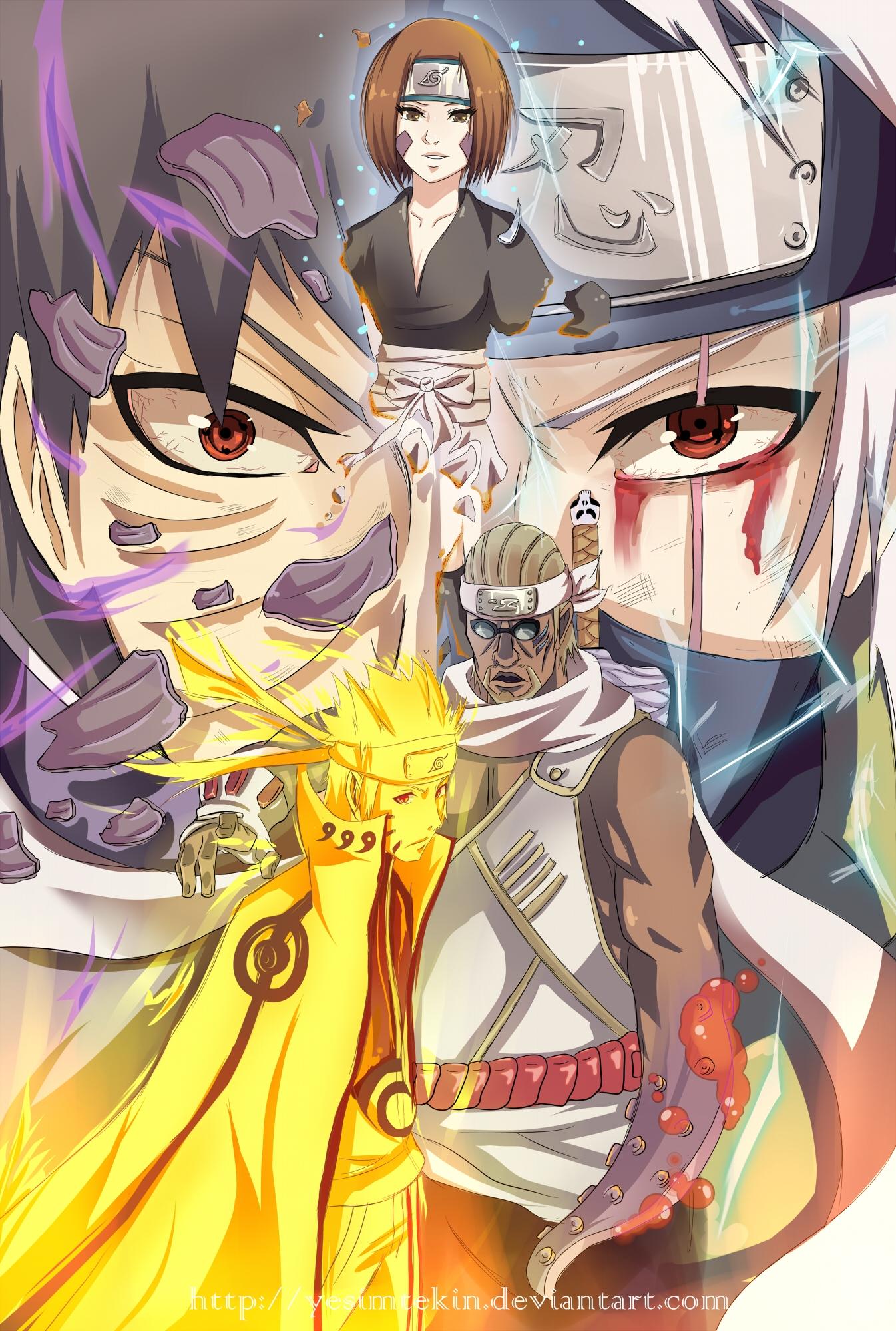 Kakashi vs Obito  Full Fight  video dailymotion
