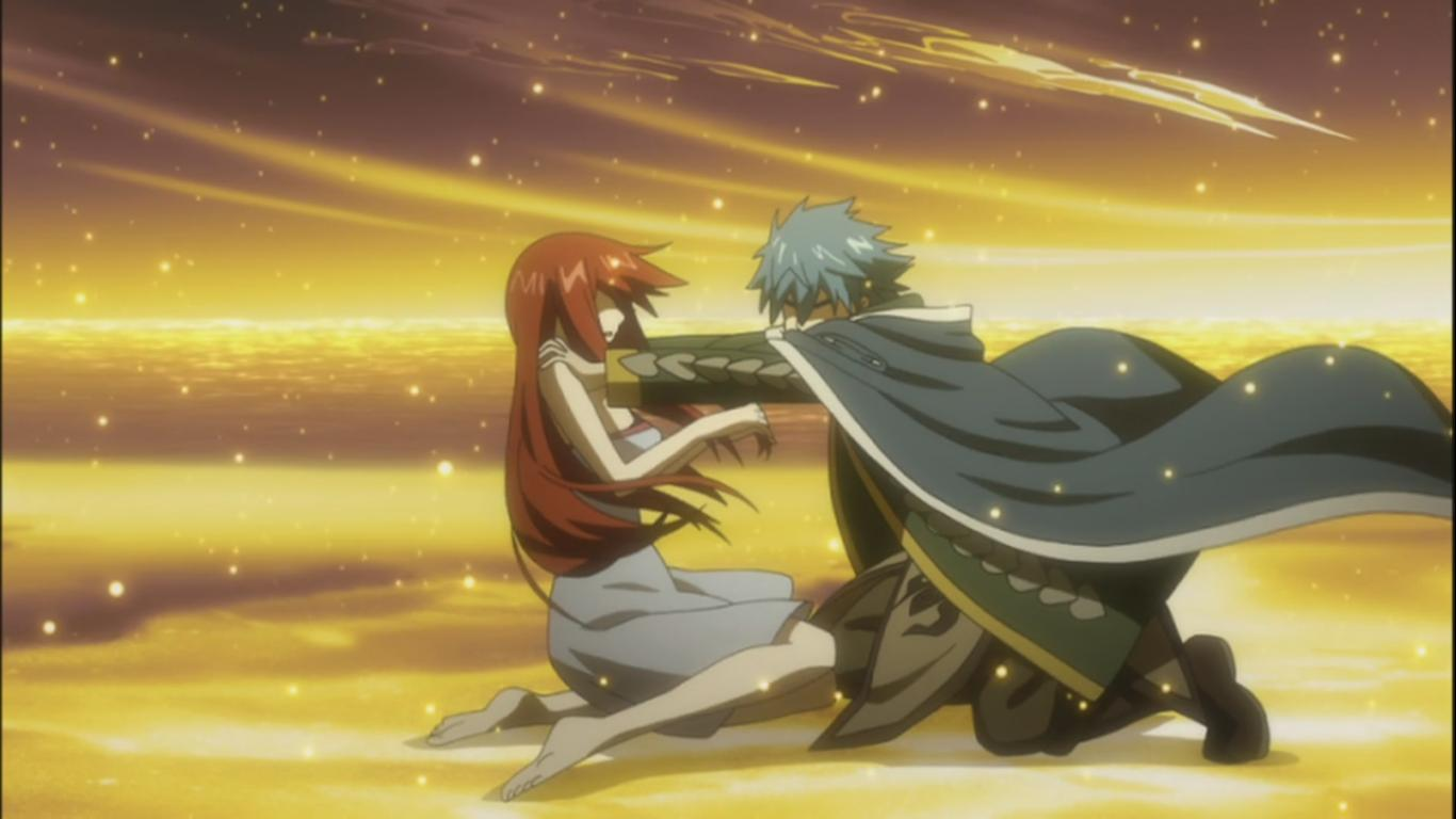 Erza meets Jellal Again – Second Origin – Fairy Tail 154 ...