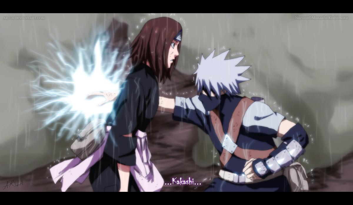 Kakashi zabil Rin