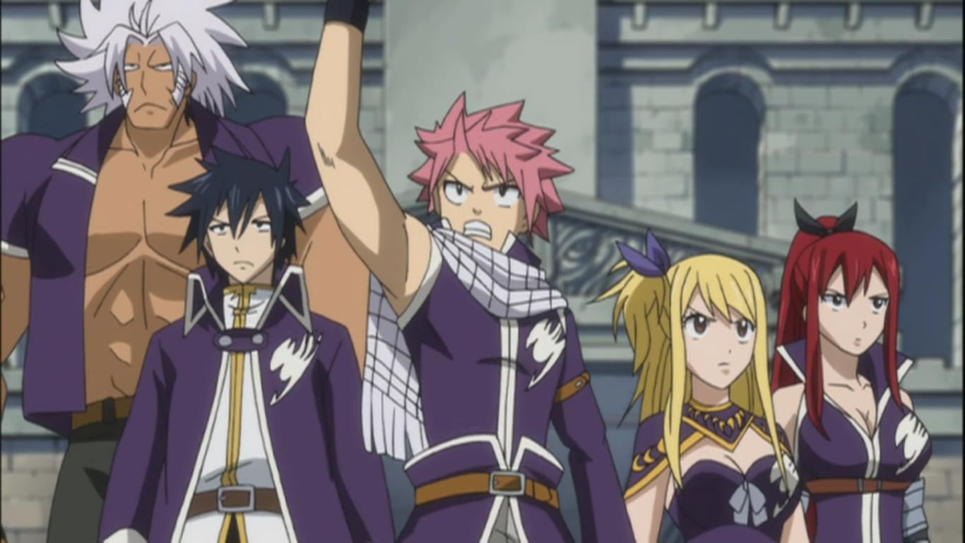 Fairy Tail Team B Challenge Hidden Fairy Tail 157