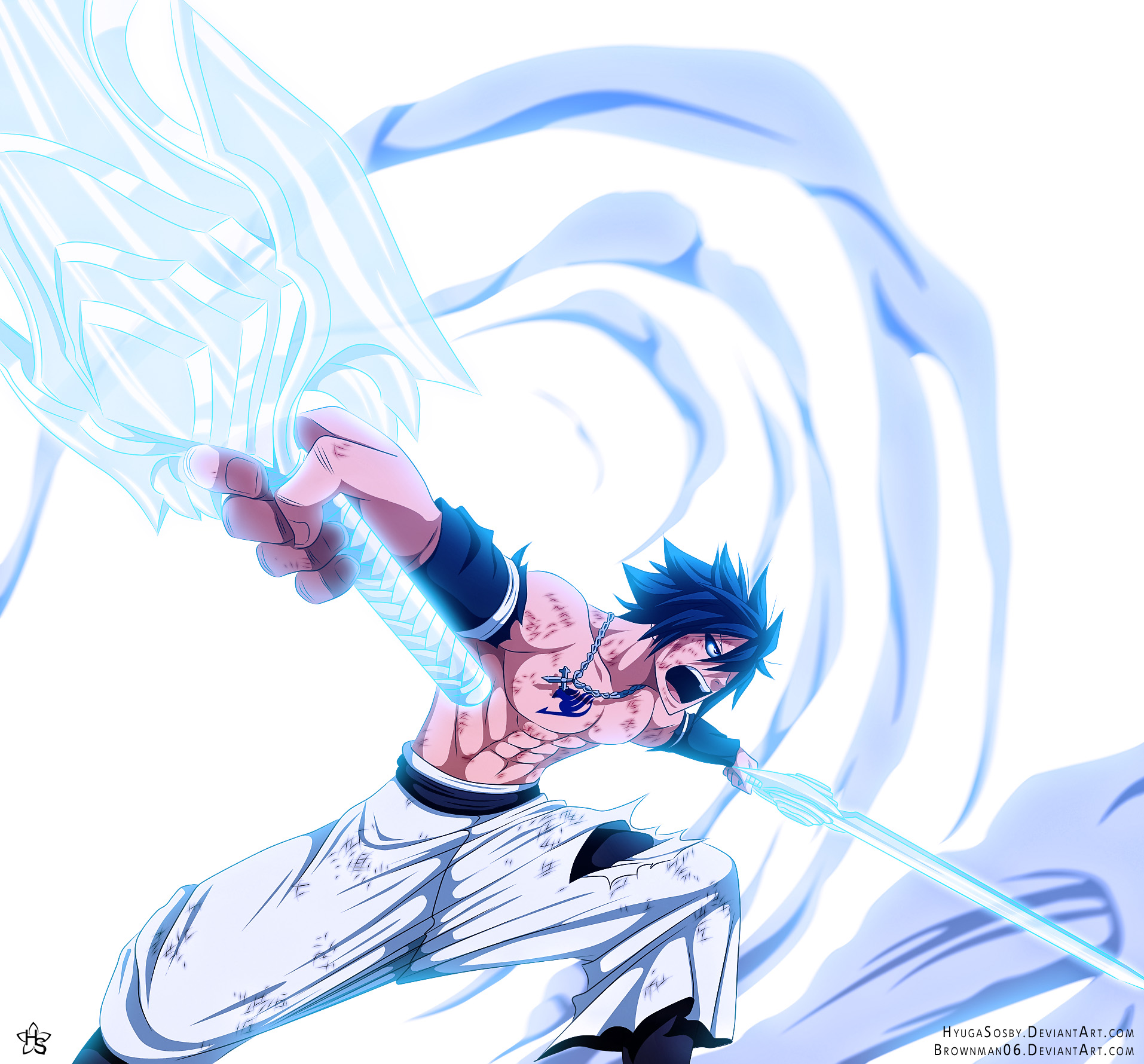 gray defeats rufus � ice make unlimited � fairy tail 306
