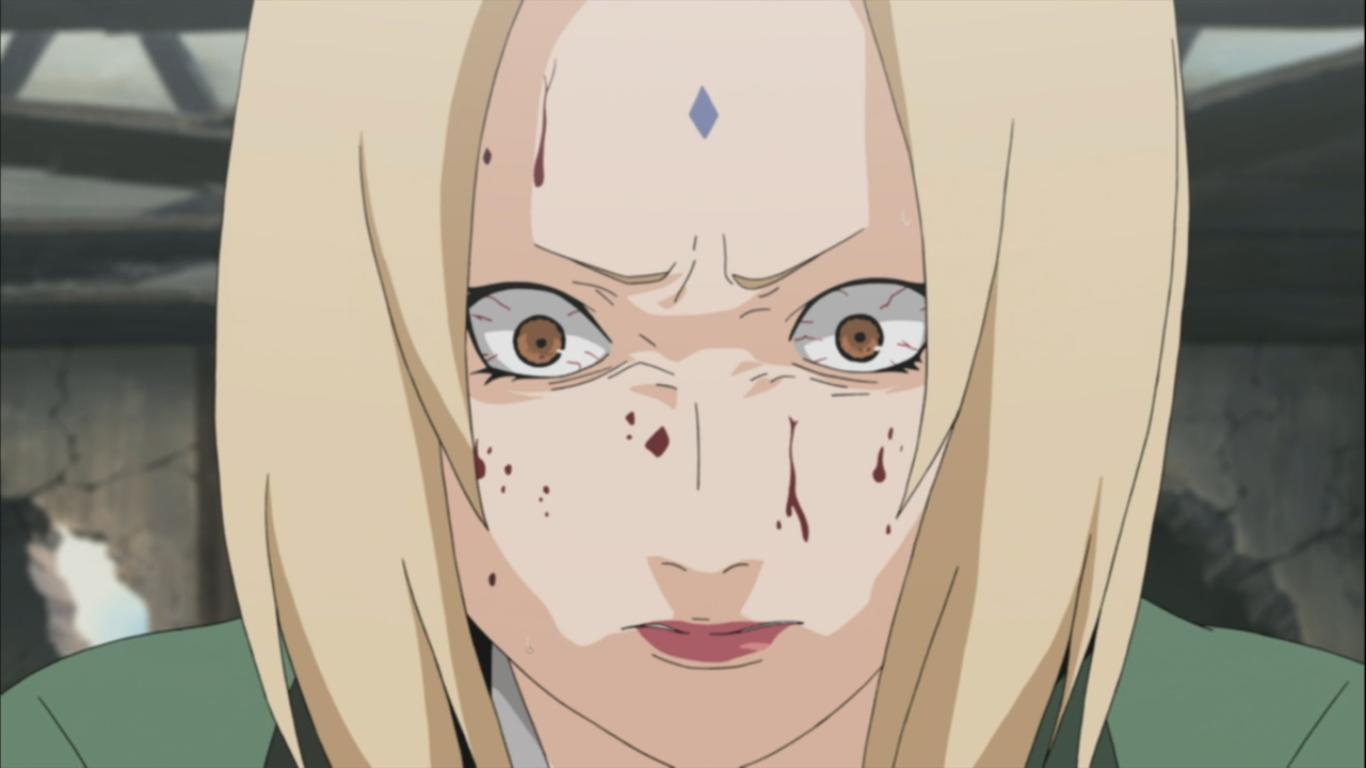 Tsunades Fear Of Blood Naruto Shippuden 287 Daily Anime Art