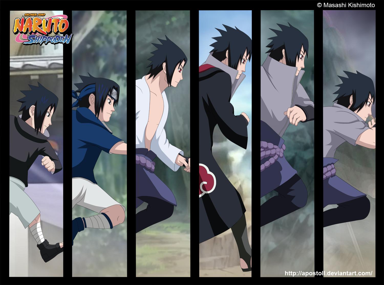 the path to darkness sasuke uchiha daily anime art
