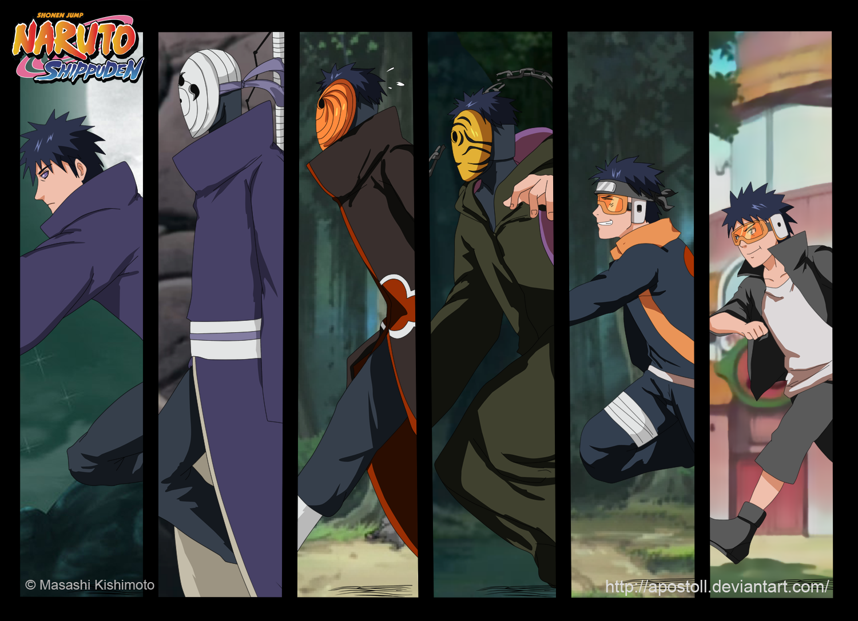 The Evolution Of Obito And Tobi – Naruto
