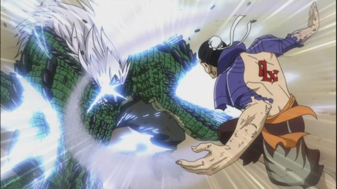 Bacchus against Lizardman