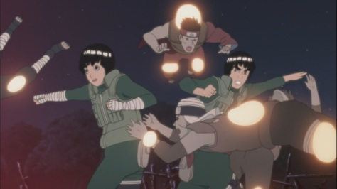Edo Tensei with explosives Lee and Guy