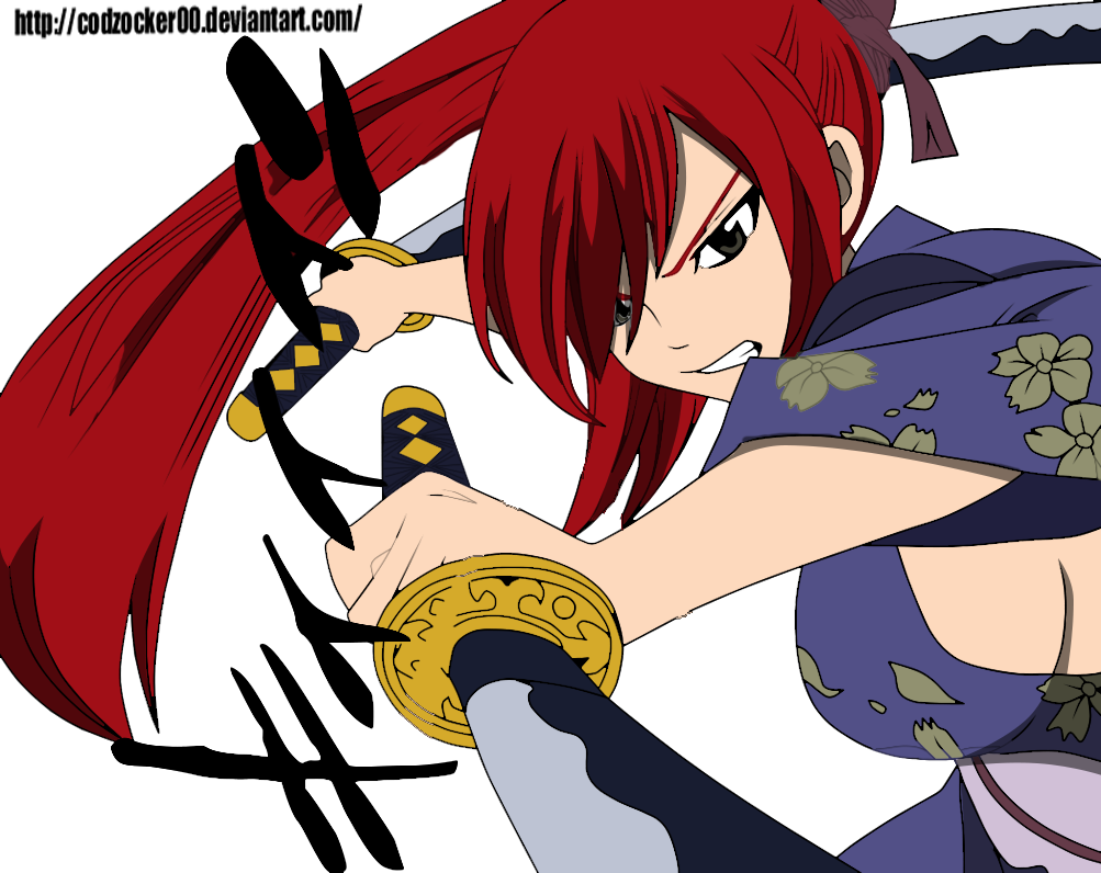Erza vs Kagura vs Minerva – Fairy Tail 311 | Daily Anime Art