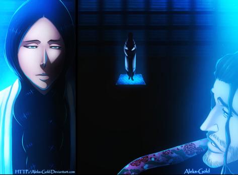 first_kenpachi___unohana_yachiru_by_aleks_gold-d5oacku