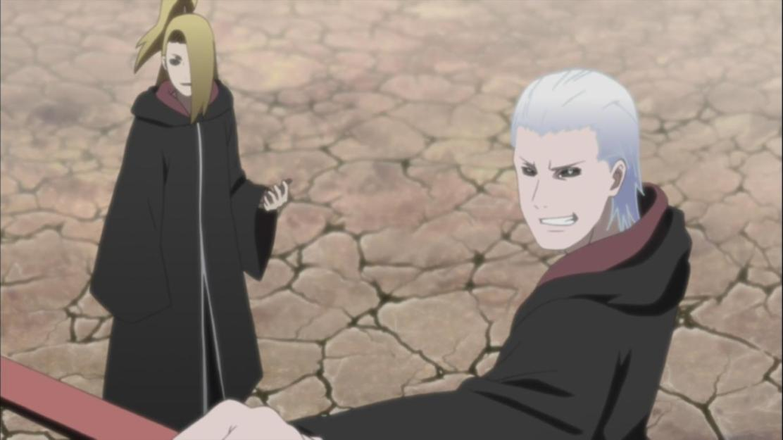 Hidan and Deidara Edo Tensei