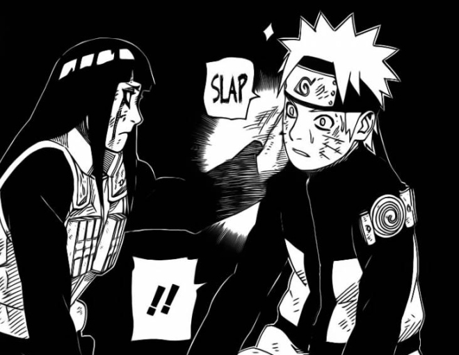 Hinata Slaps Naruto