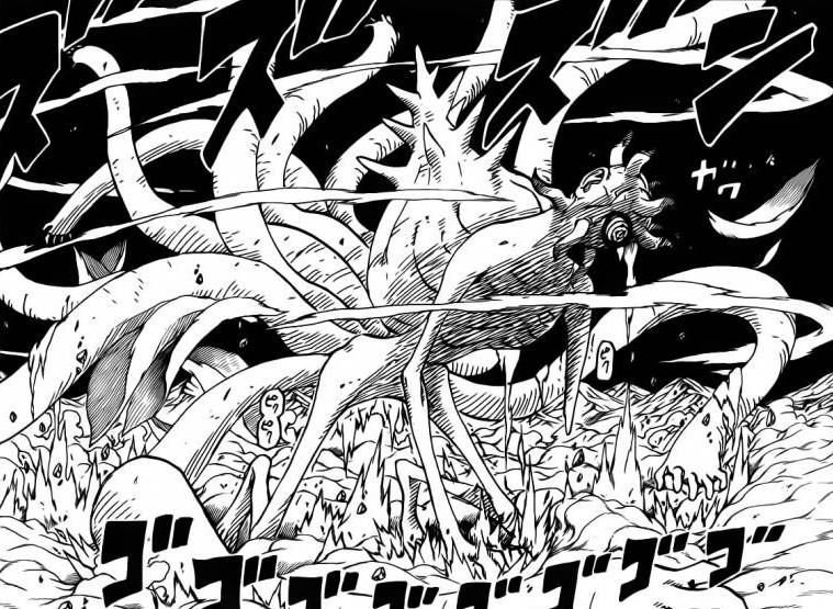 Ten Tails Rises – Shikaku and Team Dies – Naruto 613 | Daily Anime Art