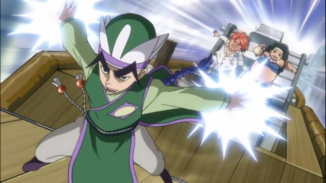 Yuka speeds a head