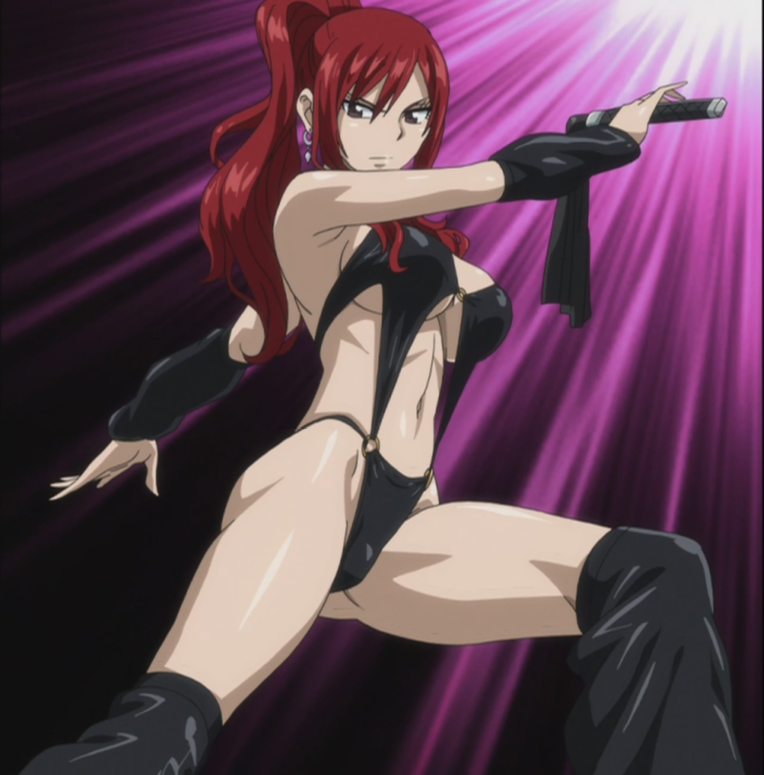 Erza Scarlet Bondage Sexy