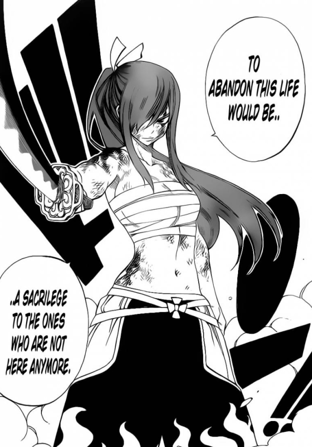 Erza will not die this easily
