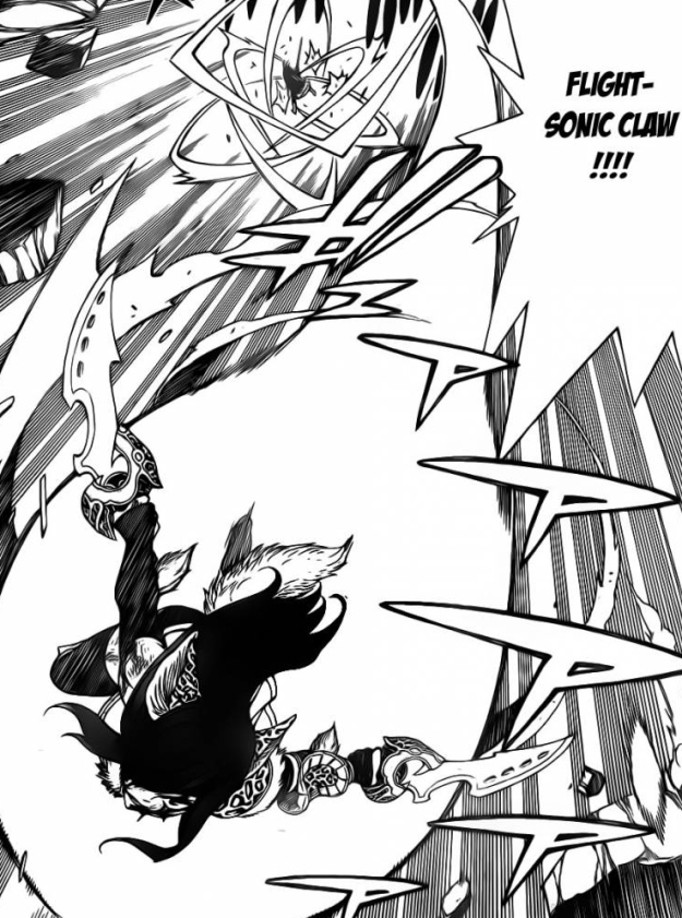 Erza's Flight Sonic Claw