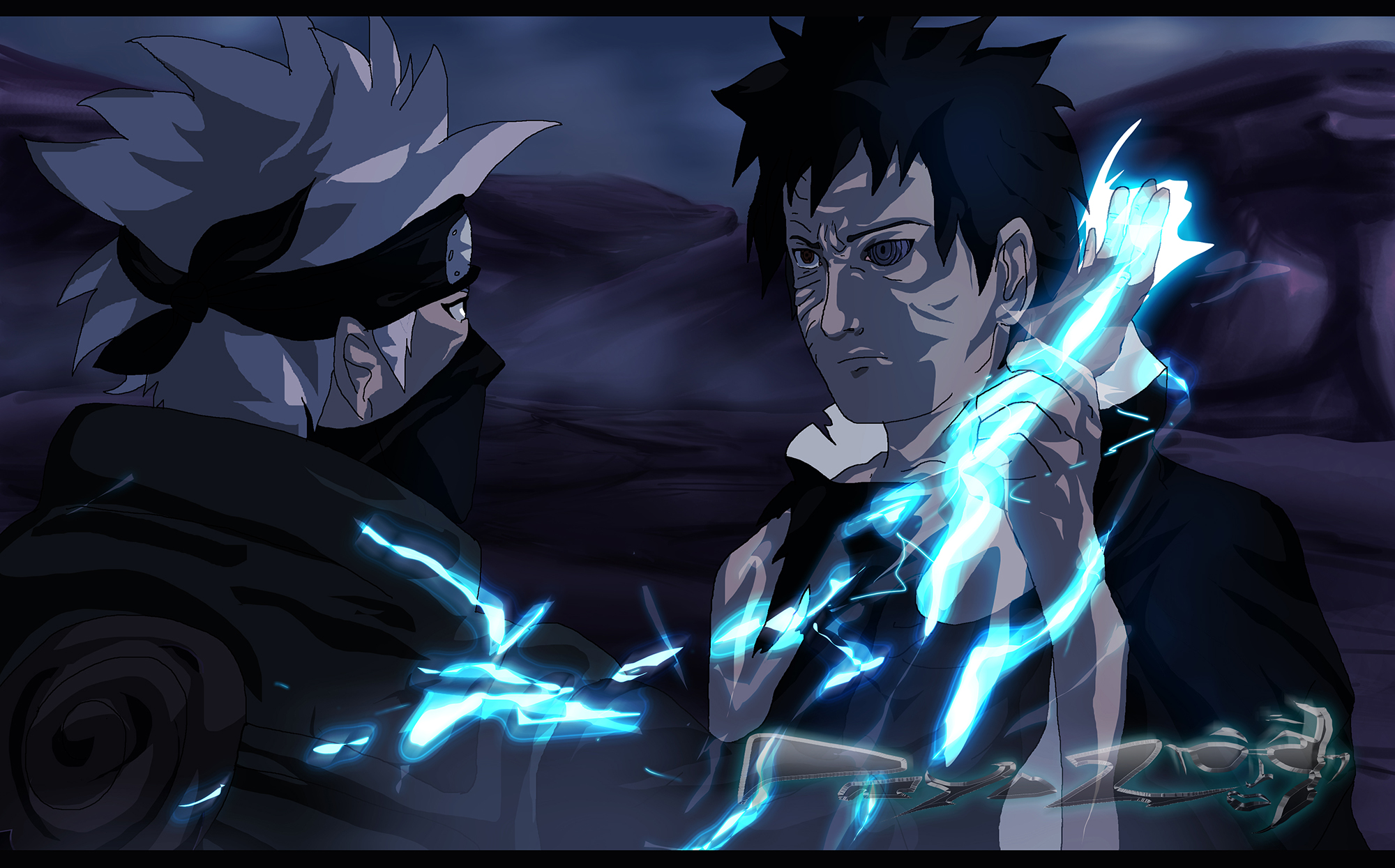 final_confrontation__kakashi_vs_obito__original__by_prydzanimation ...