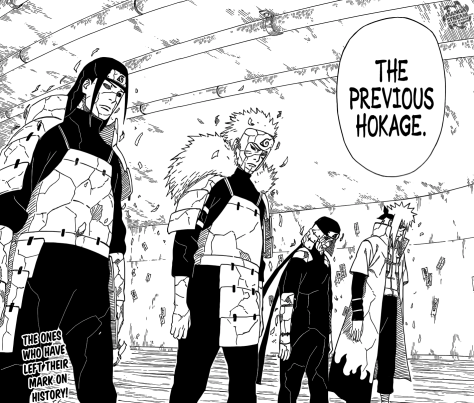 Four Hokages Return!