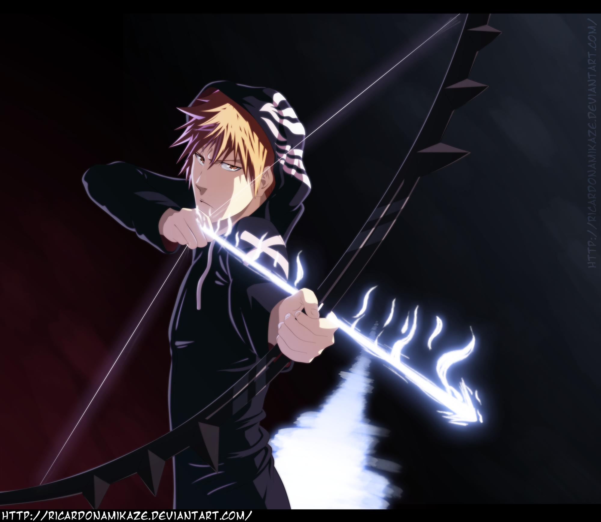 The Arrow Within – Quincy Ichigo Kurosaki | Daily Anime Art