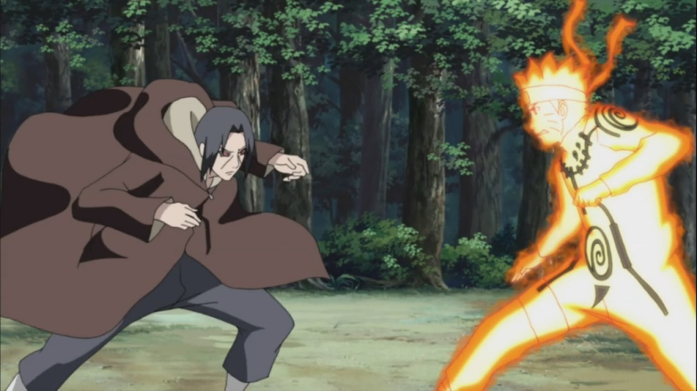 Itachi vs Naruto