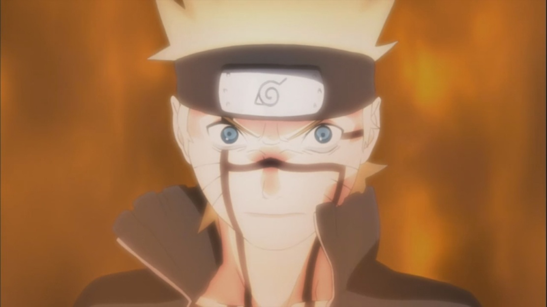 Naruto is given more power