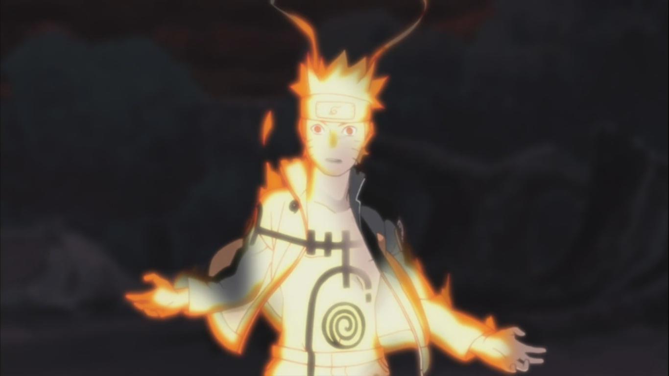 Naruto's Chakra Mode