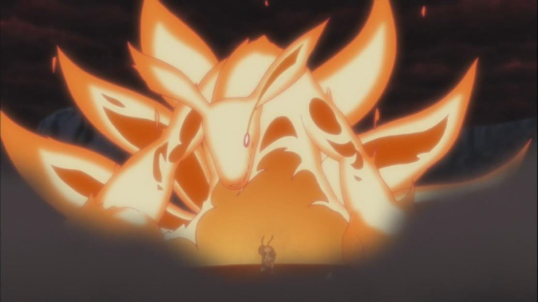 Naruto's Kurama Transformation