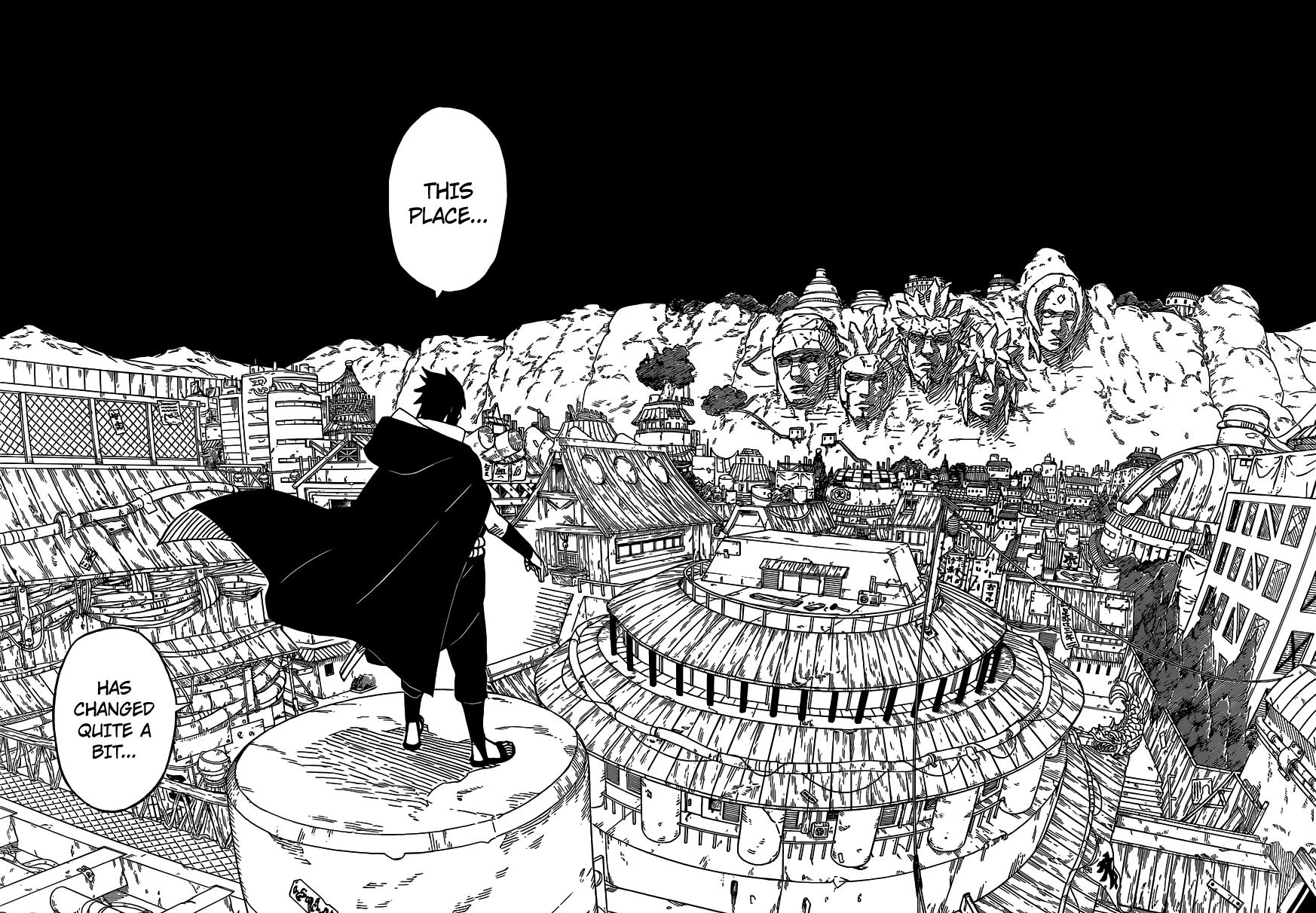 Sasuke in Konoha