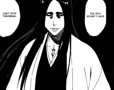 Yachiru Unohana unbraids hair