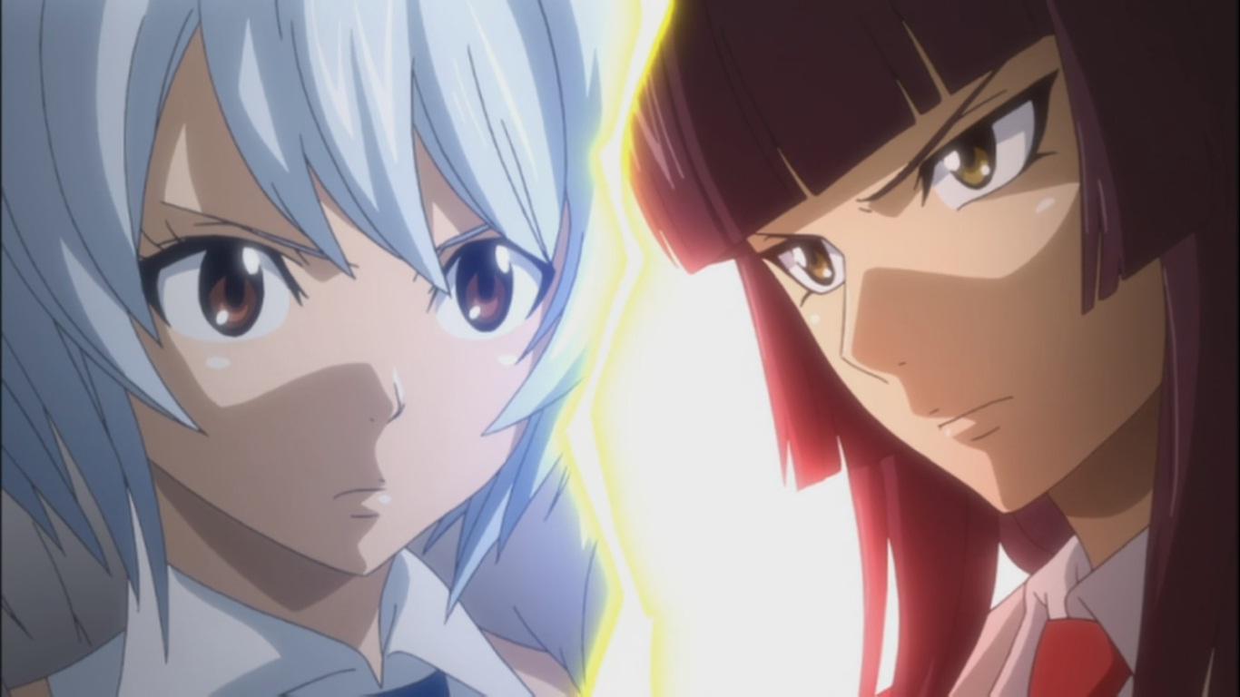 Mirajane vs jenny yukino vs kagura fairy tail 163 - Kagura fairy tail ...