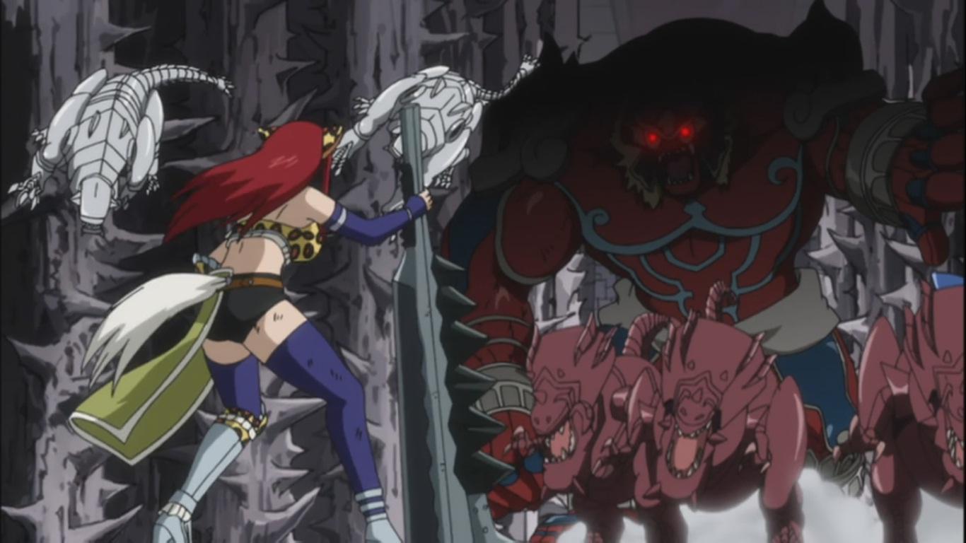 erza vs 100 monsters � fairy glitter � fairy tail 167