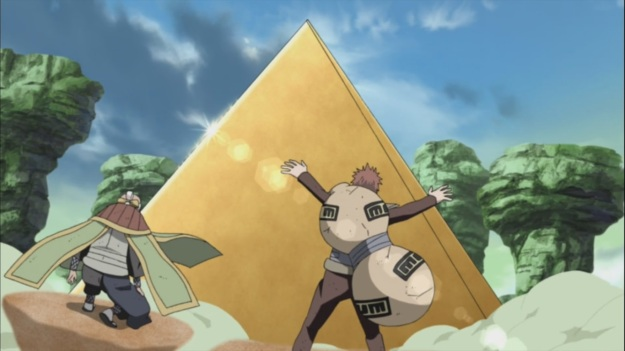 Gaara's Grand Sand Mausoluem