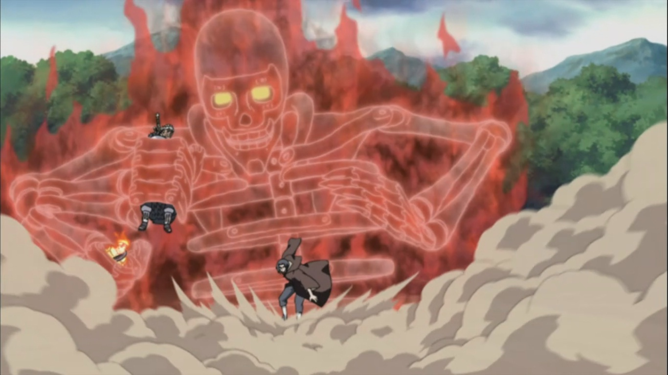 itachi s susanoo daily anime art