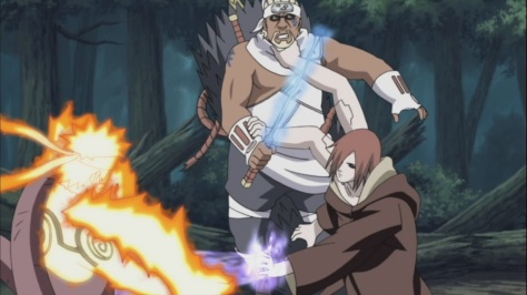 Killer Bee also captured by Nagato