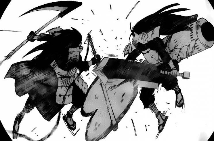 Madara vs Hashirama