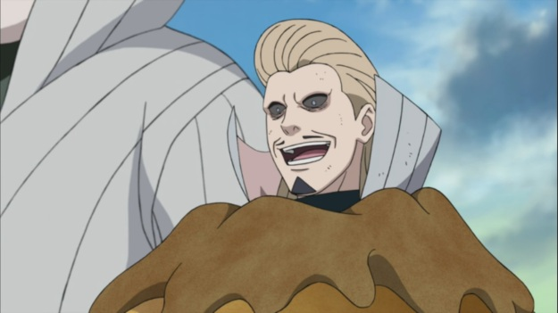 Mizukage partially captured by Grand Sand Gaara