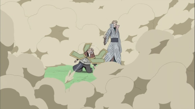 Mizukage shoots Onoki possibly dead