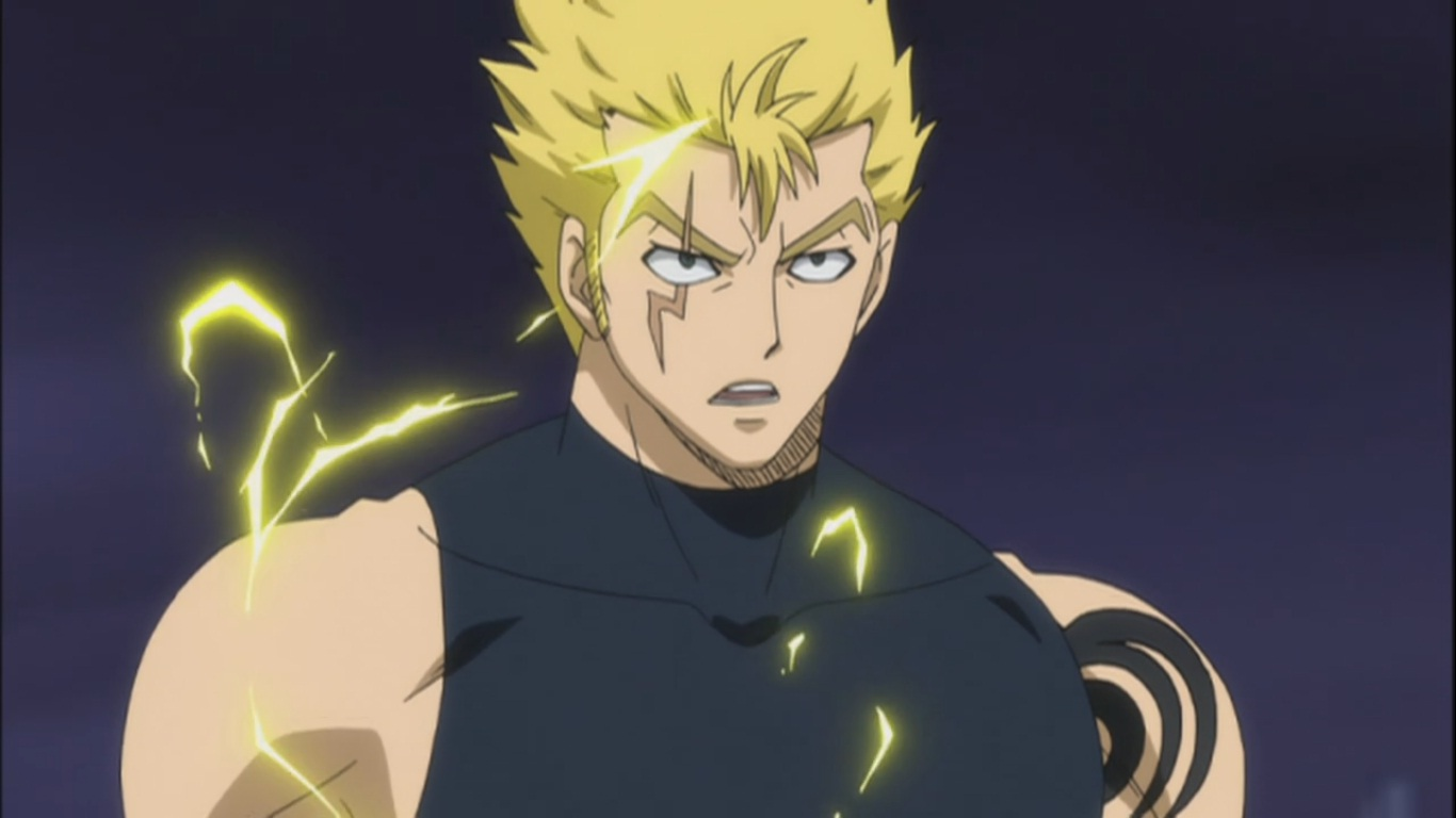 Laxus vs Raven Tail – The Lumen Histoire – Fairy Tail 168 ...